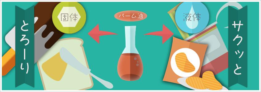 パーム油は便利